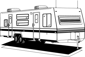 "An example of a ""Mobile Home"" or RV Camper."